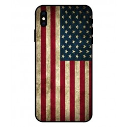 Vintage America Custodia Per iPhone XS