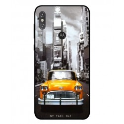 Coque New York Taxi Pour Motorola One Power P30 Note