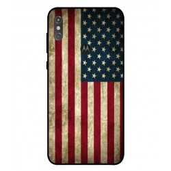 Coque Vintage America Pour Motorola One Power P30 Note
