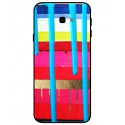 Custodia Brushstrokes Per Samsung Galaxy J4 Plus