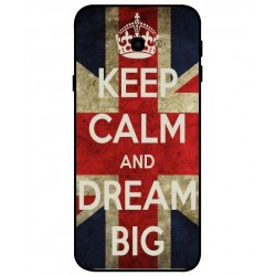 Coque Keep Calm And Dream Big Pour Samsung Galaxy J4 Plus