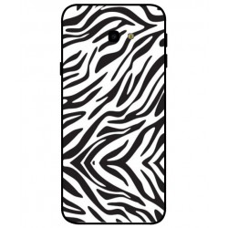 Zebra Custodia Per Samsung Galaxy J4 Plus
