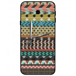 Samsung Galaxy J4 Plus Mexican Embroidery With Clock Cover