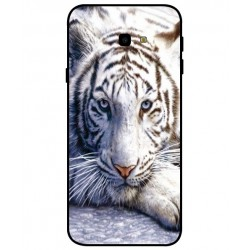 Cover 'I Love White Tiger' Per Samsung Galaxy J4 Plus