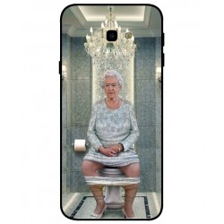Samsung Galaxy J4 Plus Her Majesty Queen Elizabeth On The Toilet Cover