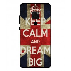Coque Keep Calm And Dream Big Pour Huawei Mate 20