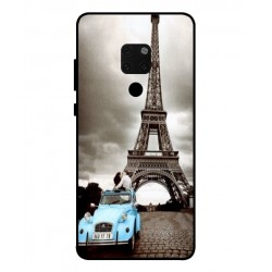 Huawei Mate 20 Vintage Eiffel Tower Case