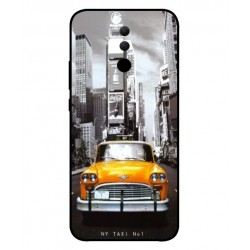 Coque New York Taxi Pour Huawei Mate 20 lite
