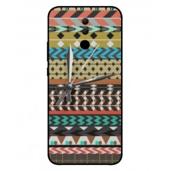 Coque Broderie Mexicaine Avec Horloge Pour Huawei Mate 20 lite