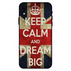iPhone XR Keep Calm And Dream Big Cover