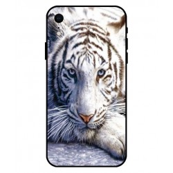 Coque Protection Tigre Blanc Pour iPhone XR