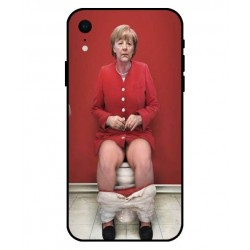 Funda Angela Merkel En El Baño Para iPhone XR