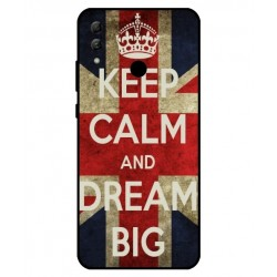 Carcasa Keep Calm And Dream Big Para Huawei Honor 10 Lite