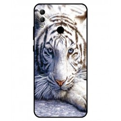 Coque Protection Tigre Blanc Pour Huawei Honor 10 Lite