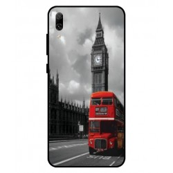 Huawei Enjoy 9 London Style Cover