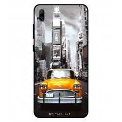Huawei Enjoy 9 New York Taxi Cover