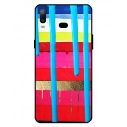 Samsung Galaxy A6s Brushstrokes Cover