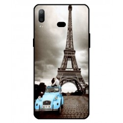 Samsung Galaxy A6s Vintage Eiffel Tower Case