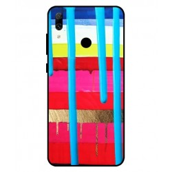 Huawei Y7 Pro 2019 Brushstrokes Cover
