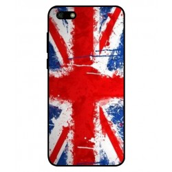 Coque UK Brush Pour Huawei Y5 Lite 2018