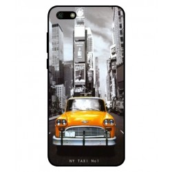 Huawei Y5 Lite 2018 New York Taxi Cover