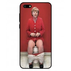 Huawei Y5 Lite 2018 Angela Merkel On The Toilet Cover