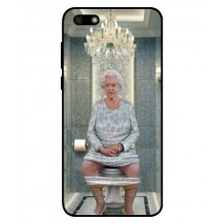 Huawei Y5 Lite 2018 Her Majesty Queen Elizabeth On The Toilet Cover