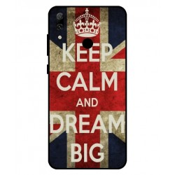 Keep Calm And Dream Big Hülle Für Huawei P Smart 2019