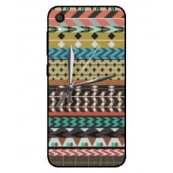 Asus ZenFone Lite L1 ZA551KL Mexican Embroidery With Clock Cover