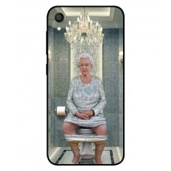 Asus ZenFone Lite L1 ZA551KL Her Majesty Queen Elizabeth On The Toilet Cover