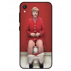 Asus ZenFone Live L1 ZA550KL Angela Merkel On The Toilet Cover