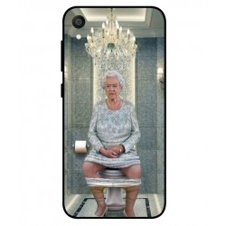 Asus ZenFone Live L1 ZA550KL Her Majesty Queen Elizabeth On The Toilet Cover