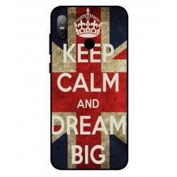 HTC U12 Life Keep Calm And Dream Big Cover