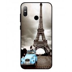 HTC U12 Life Vintage Eiffel Tower Case