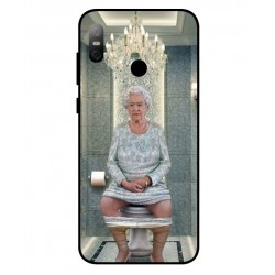 HTC U12 Life Her Majesty Queen Elizabeth On The Toilet Cover