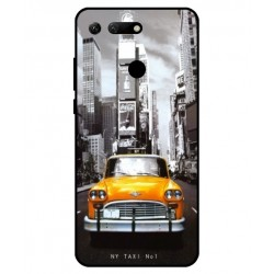 Coque New York Taxi Pour Huawei Honor View 20