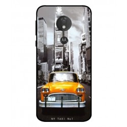 Coque New York Taxi Pour Motorola Moto G7 Power