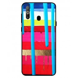 Samsung Galaxy A8s Brushstrokes Cover