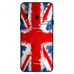 Coque UK Brush Pour Samsung Galaxy A8s