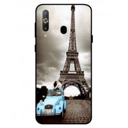 Samsung Galaxy A8s Vintage Eiffel Tower Case