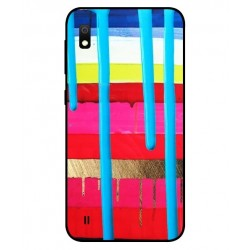 Samsung Galaxy A10 Brushstrokes Cover