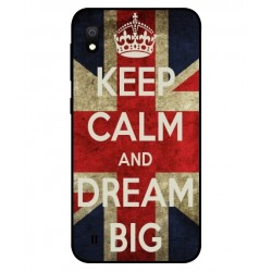 Samsung Galaxy A10 Keep Calm And Dream Big Cover