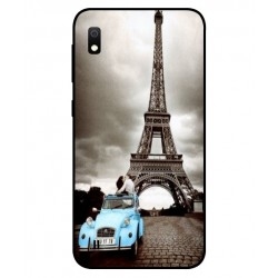 Samsung Galaxy A10 Vintage Eiffel Tower Case
