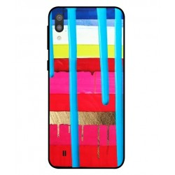 Samsung Galaxy M10 Brushstrokes Cover