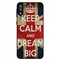 Samsung Galaxy M10 Keep Calm And Dream Big Cover
