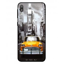 Samsung Galaxy M10 New York Taxi Cover