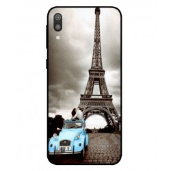 Samsung Galaxy M10 Vintage Eiffel Tower Case