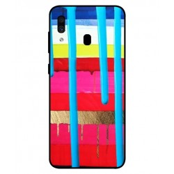 Samsung Galaxy A30 Brushstrokes Cover