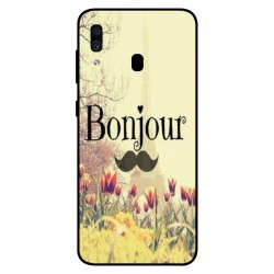 Samsung Galaxy A30 Hello Paris Cover