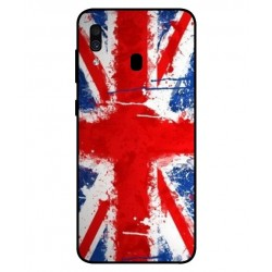Coque UK Brush Pour Samsung Galaxy A30